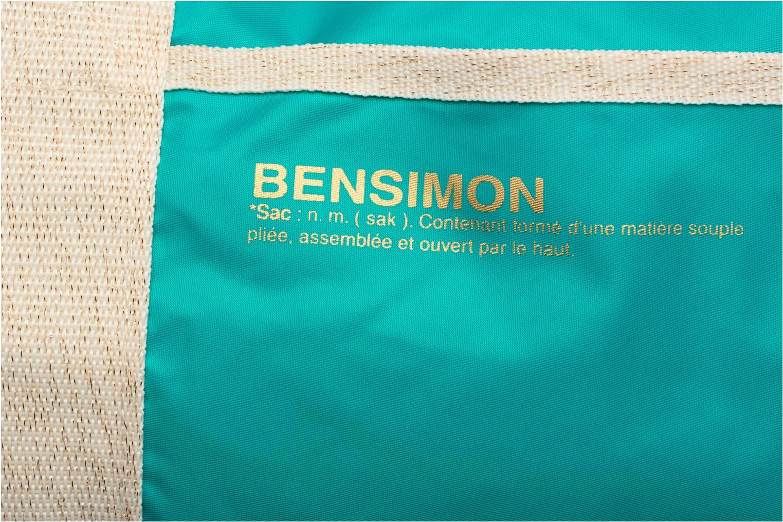 Sacs de sport Bensimon Color Bag Bleu vue gauche