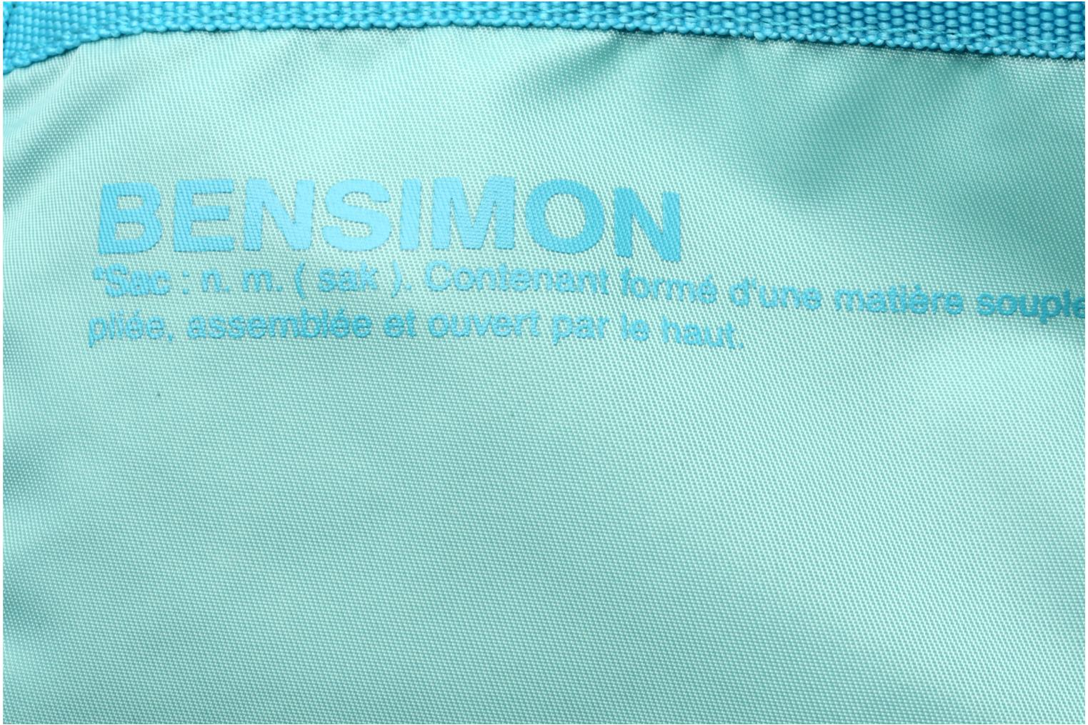 Handbags Bensimon Color Tote Blue view from the left