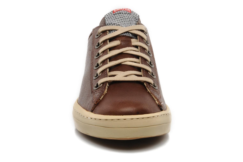 Sneaker Camper Imar 18008 braun schuhe getragen