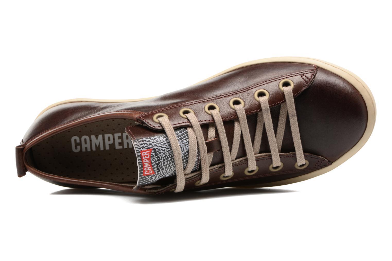 Sneaker Camper Imar 18008 braun ansicht von links