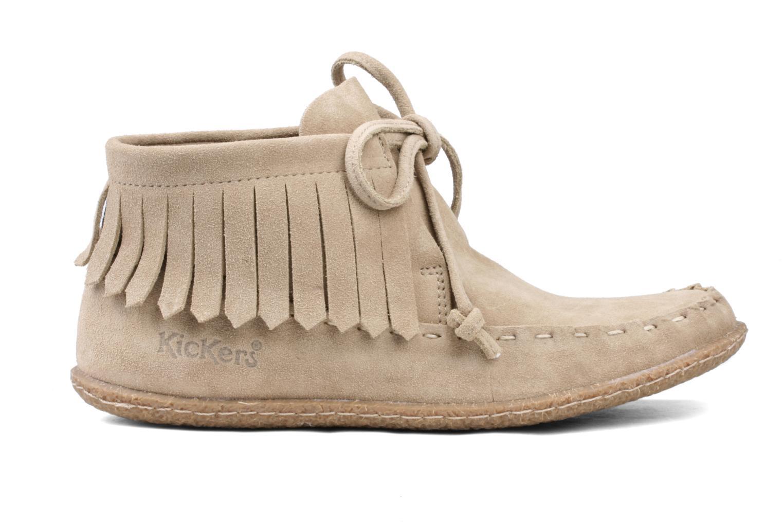 Bottines et boots Kickers Mohican Beige vue derrière