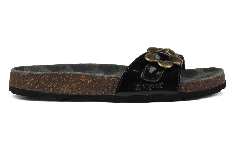Sandales et nu-pieds Kickers Magma Noir vue derrière