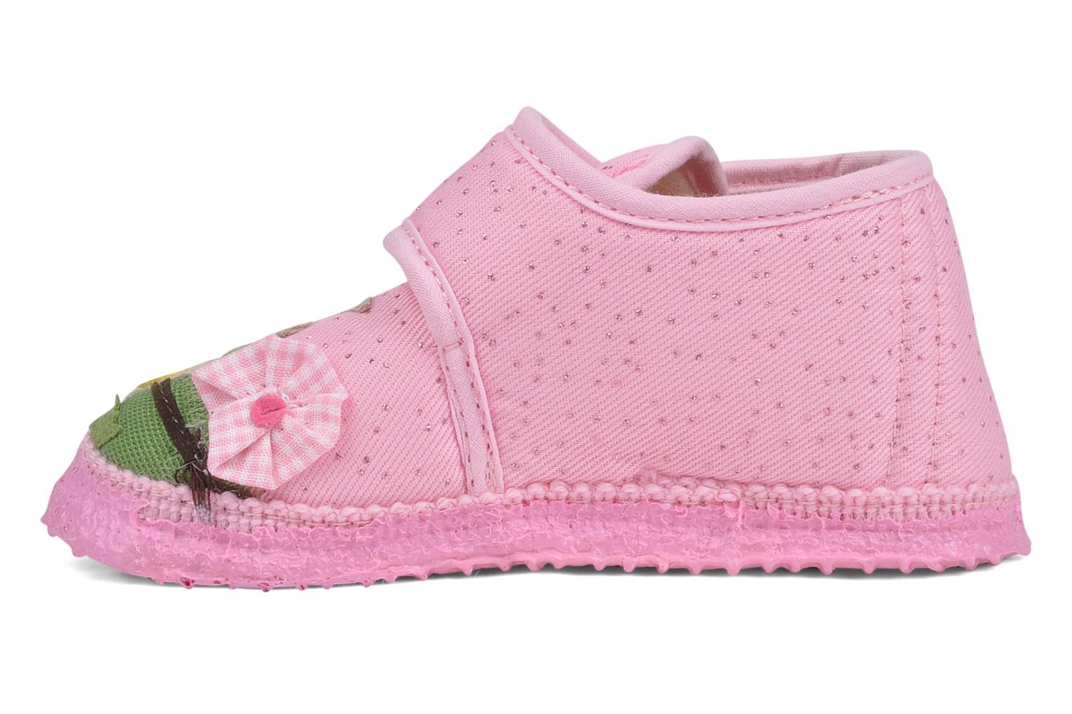Slippers Giesswein Kirchberg Pink front view