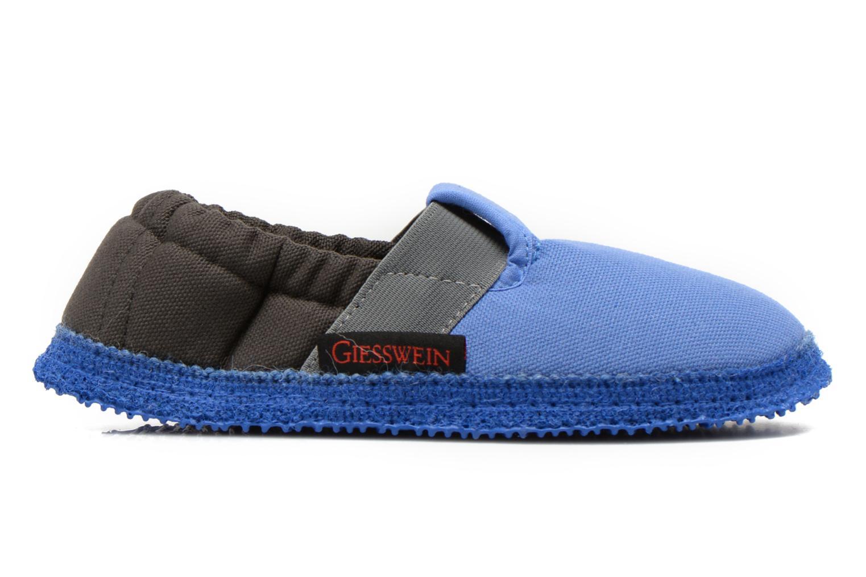 Pantoffels Giesswein Aichach Blauw achterkant