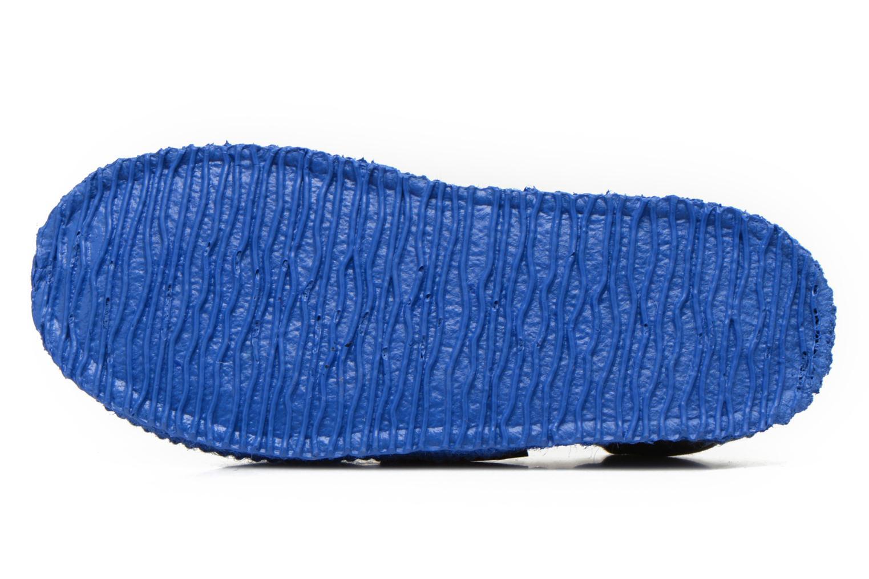 Hausschuhe Giesswein Aichach blau ansicht von oben