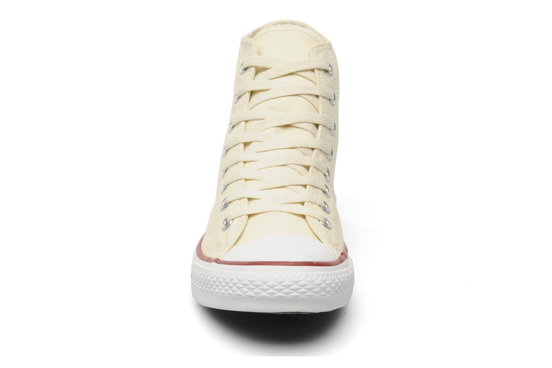 Baskets Converse Chuck Taylor All Star Hi M Beige vue portées chaussures