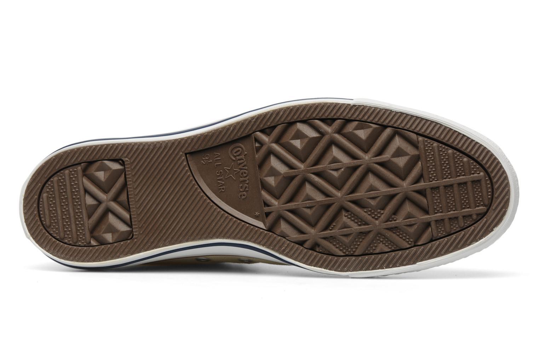 Sneakers Converse Chuck Taylor All Star Hi M Beige immagine dall'alto