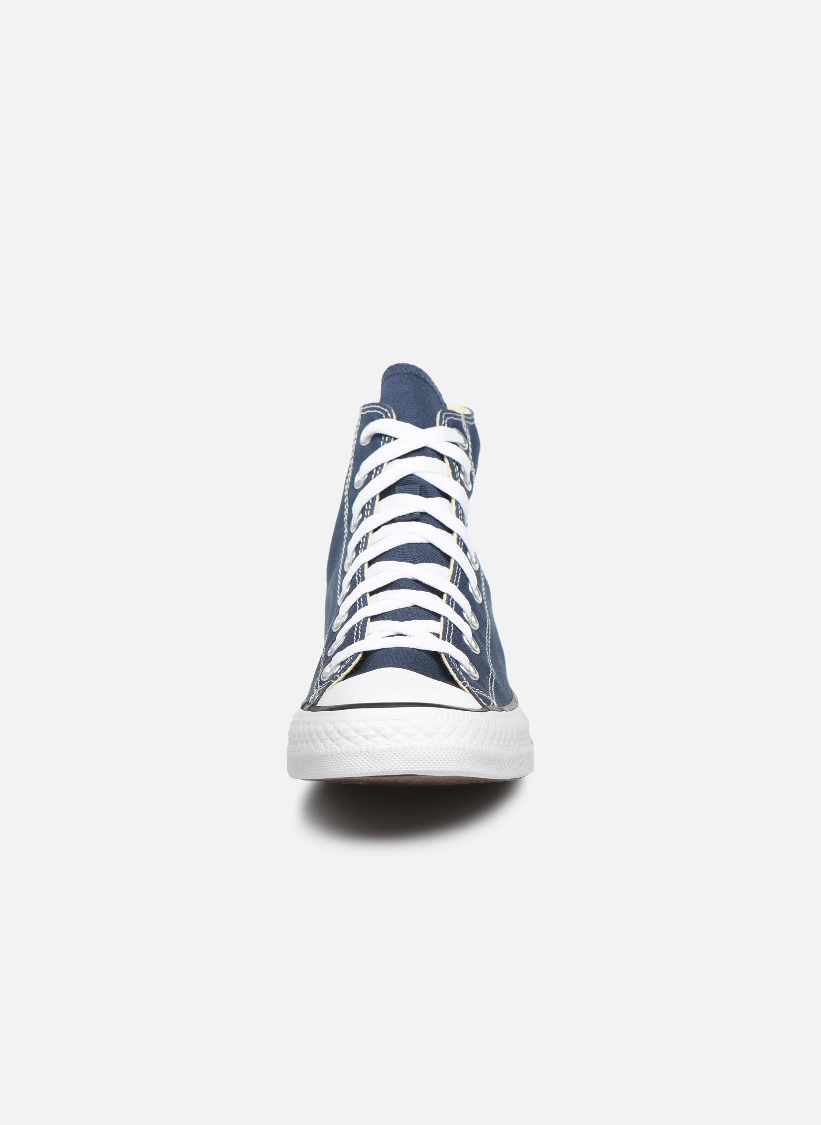 Sneaker Converse Chuck Taylor All Star Hi M blau schuhe getragen