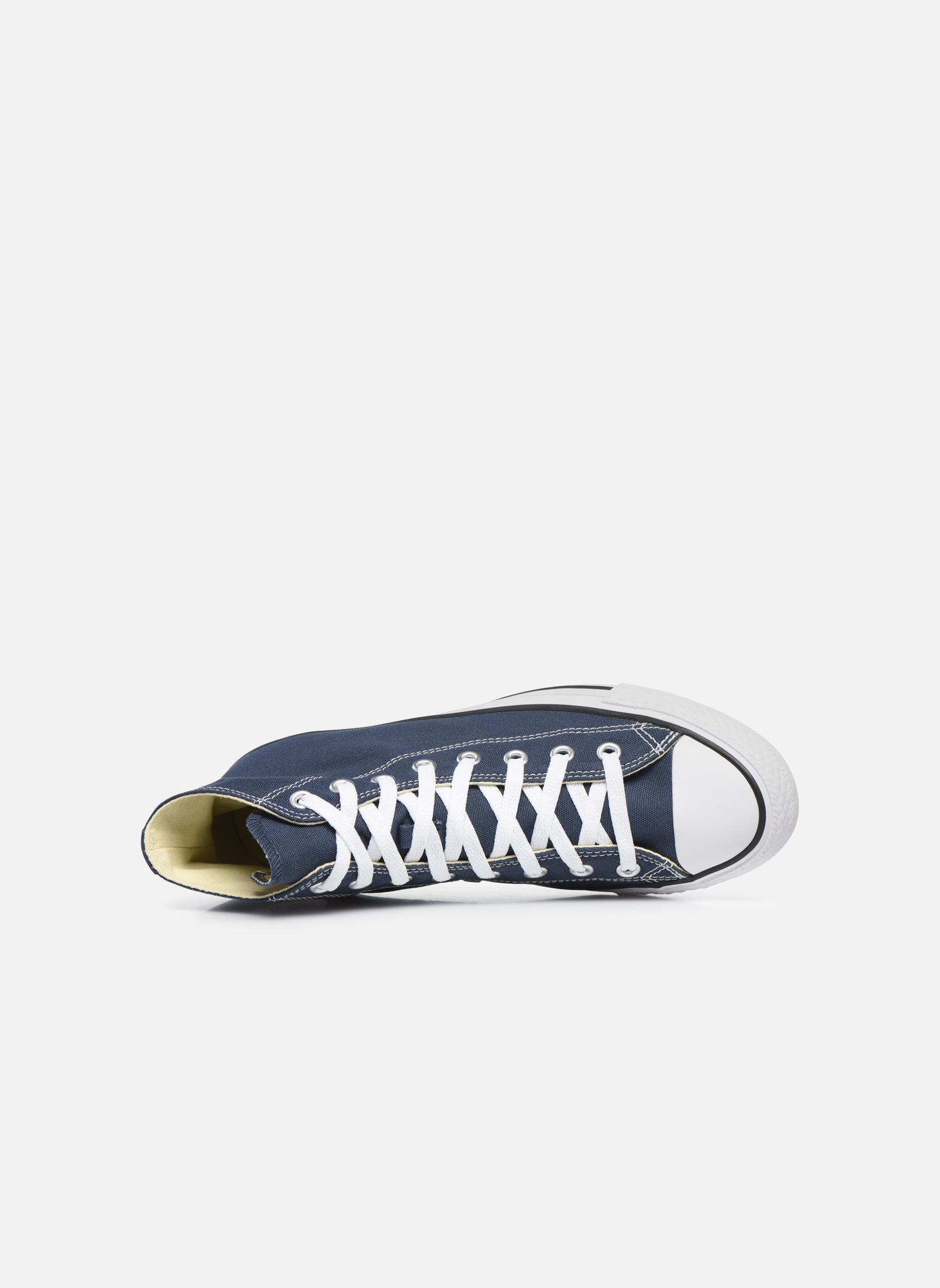 Sneaker Converse Chuck Taylor All Star Hi M blau ansicht von links