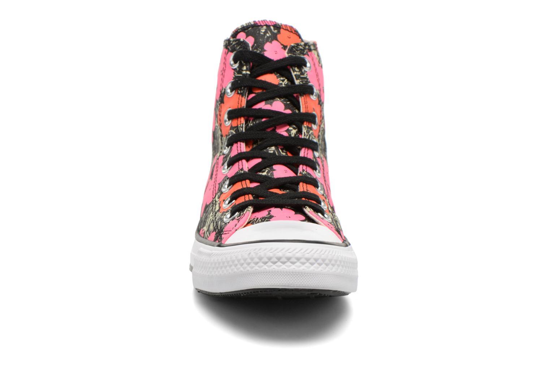 Sneaker Converse Chuck Taylor All Star Hi M rosa schuhe getragen
