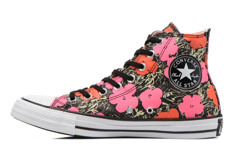Sneaker Converse Chuck Taylor All Star Hi M rosa ansicht von vorne