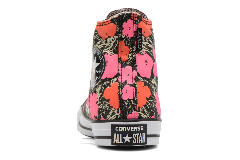 Sneaker Converse Chuck Taylor All Star Hi M rosa ansicht von rechts