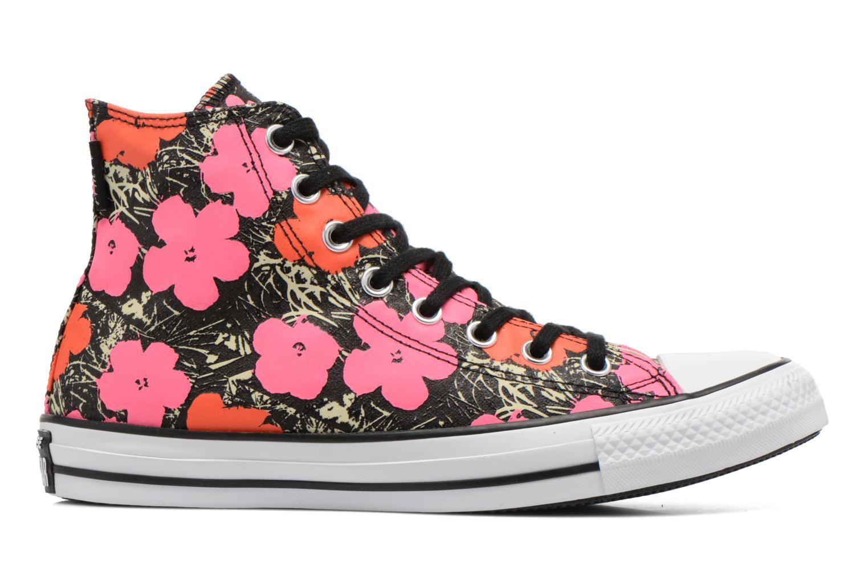 Sneaker Converse Chuck Taylor All Star Hi M rosa ansicht von hinten