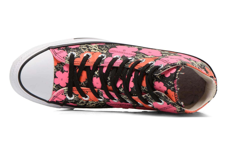 Sneaker Converse Chuck Taylor All Star Hi M rosa ansicht von links