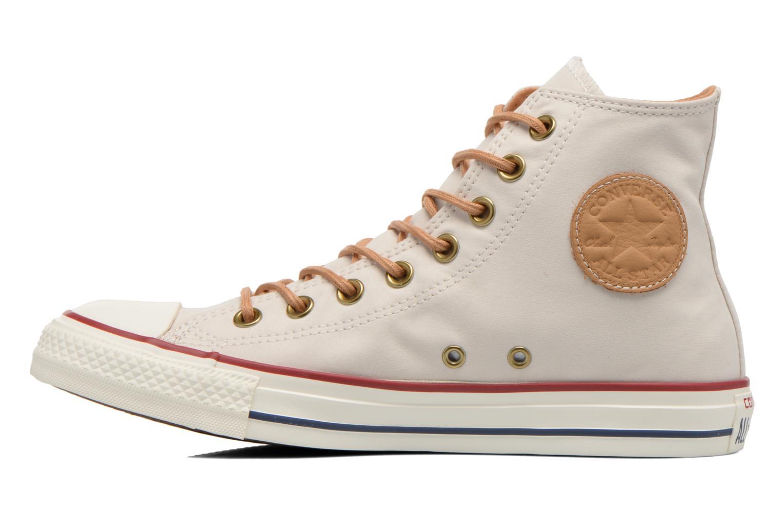 Sneakers Converse Chuck Taylor All Star Hi M Beige voorkant