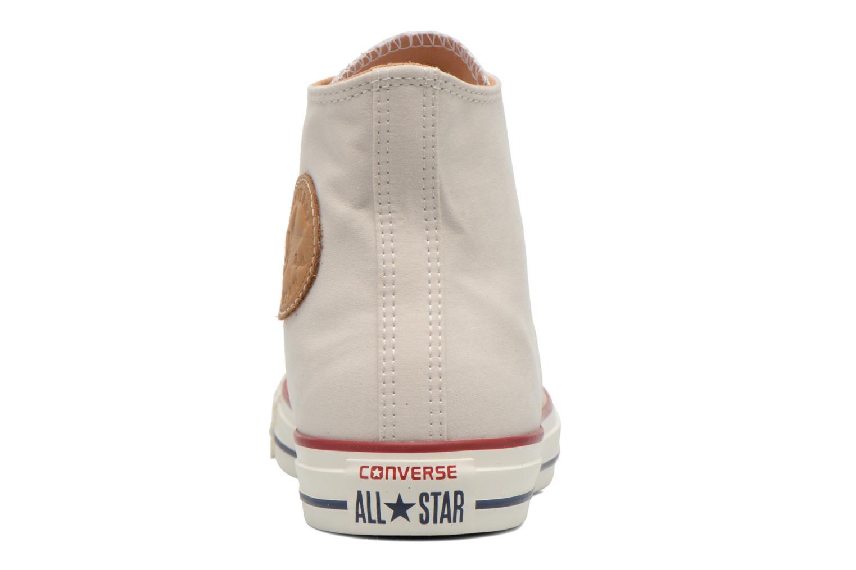 Sneakers Converse Chuck Taylor All Star Hi M Beige rechts