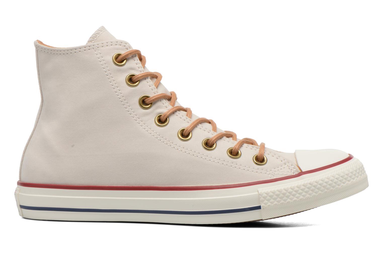 Sneakers Converse Chuck Taylor All Star Hi M Beige achterkant
