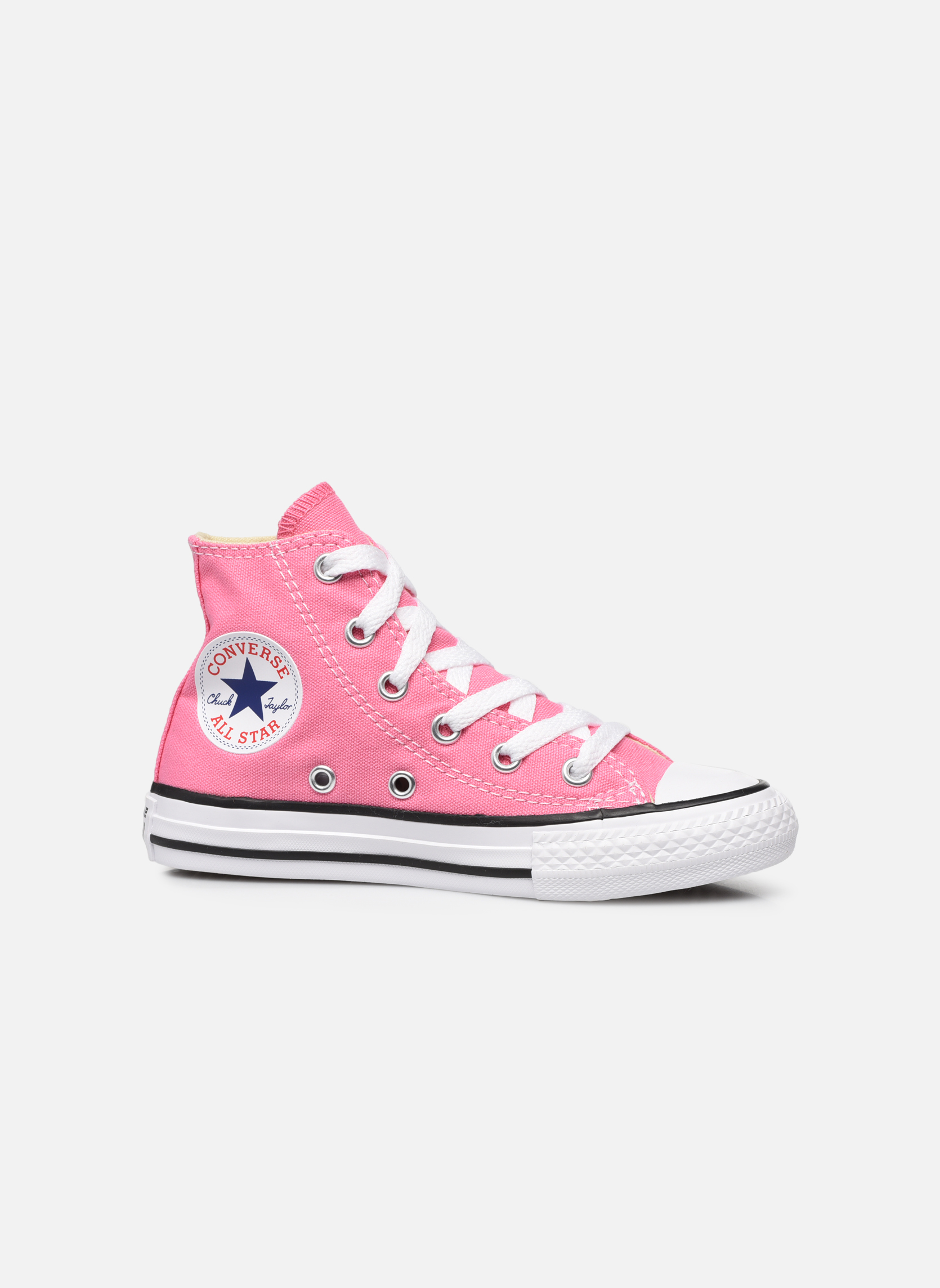 Sneakers Converse Chuck Taylor All Star Core Hi Rosa immagine posteriore