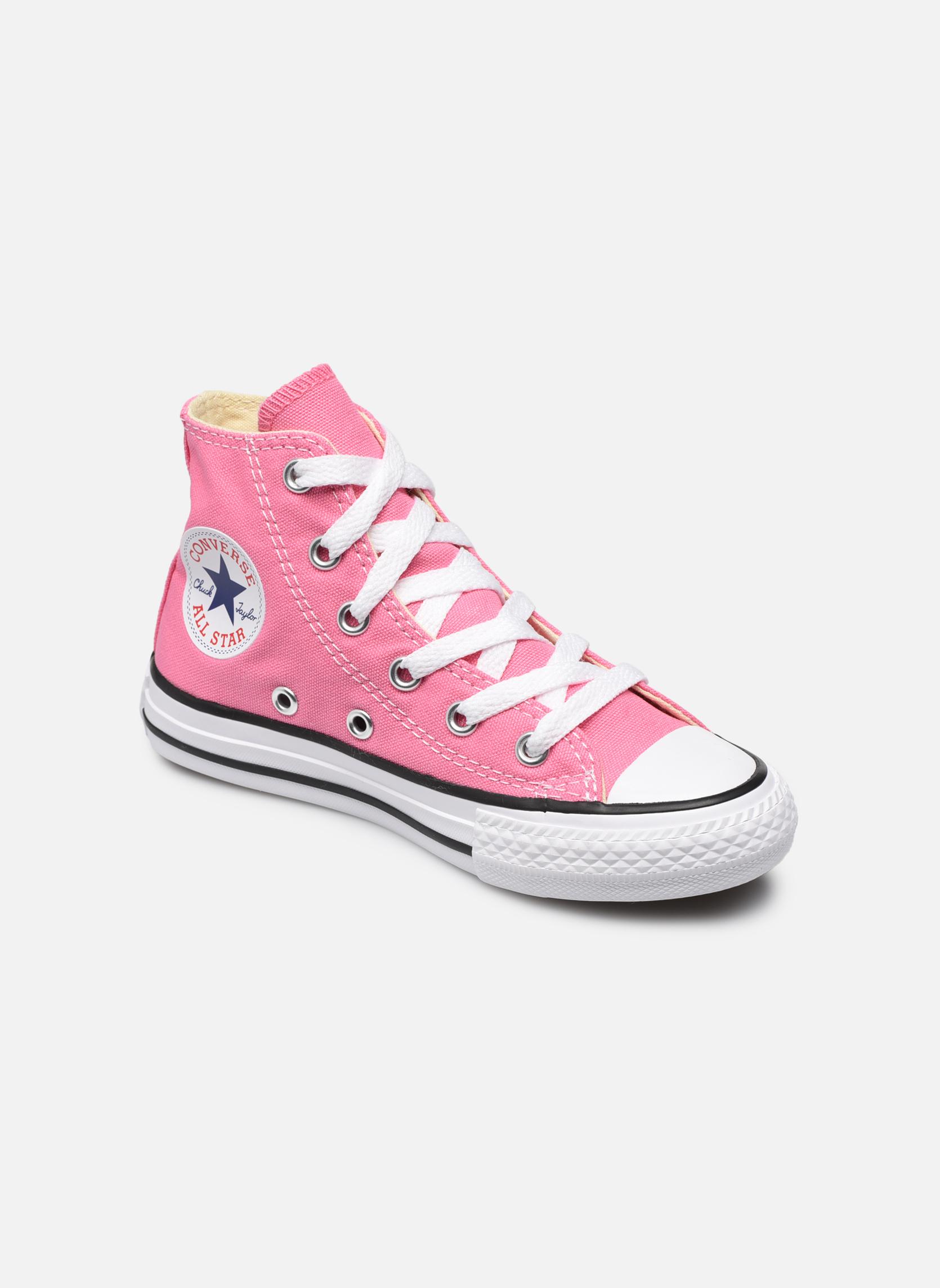 Sneakers Converse Chuck Taylor All Star Core Hi Rosa vedi dettaglio/paio