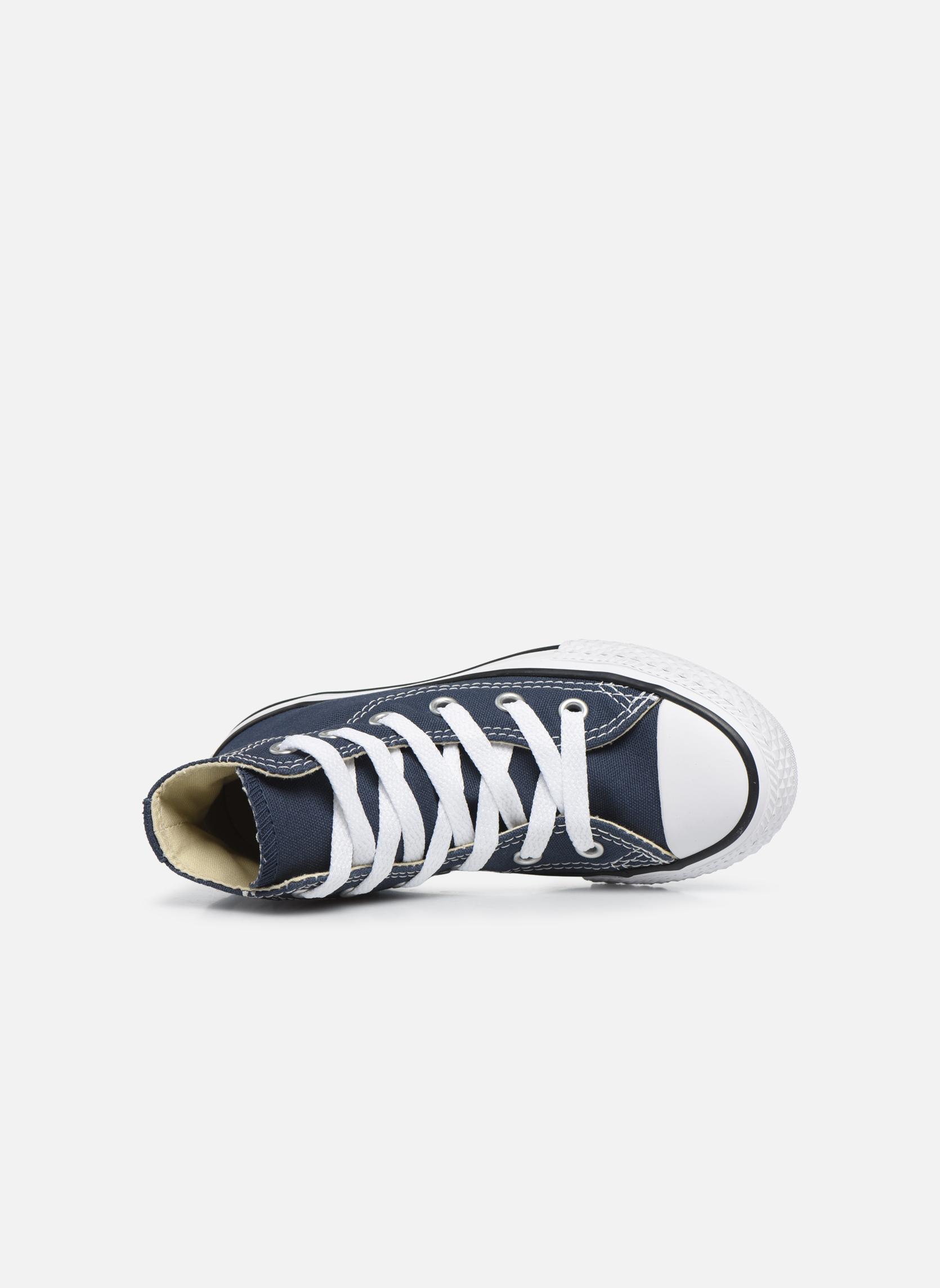 Sneakers Converse Chuck Taylor All Star Core Hi Azzurro immagine sinistra