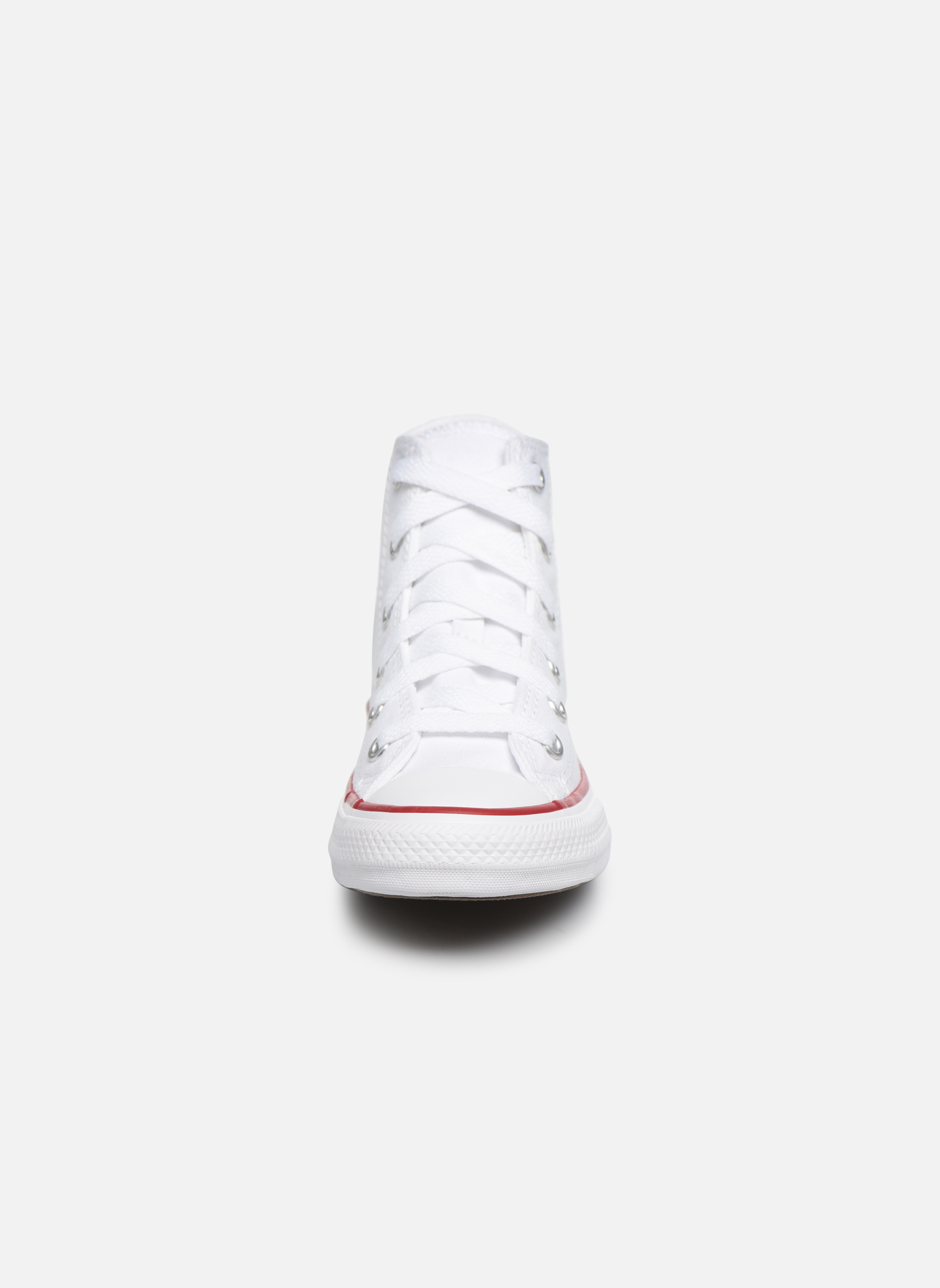 Sneakers Converse Chuck Taylor All Star Core Hi Bianco modello indossato