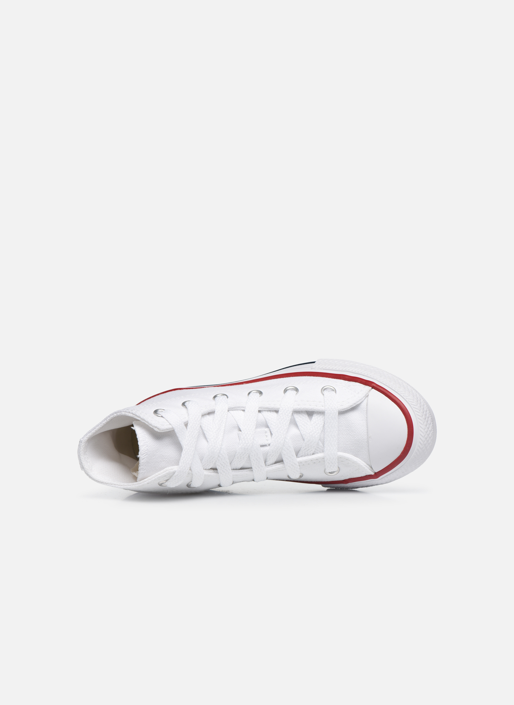 Sneakers Converse Chuck Taylor All Star Core Hi Bianco immagine sinistra