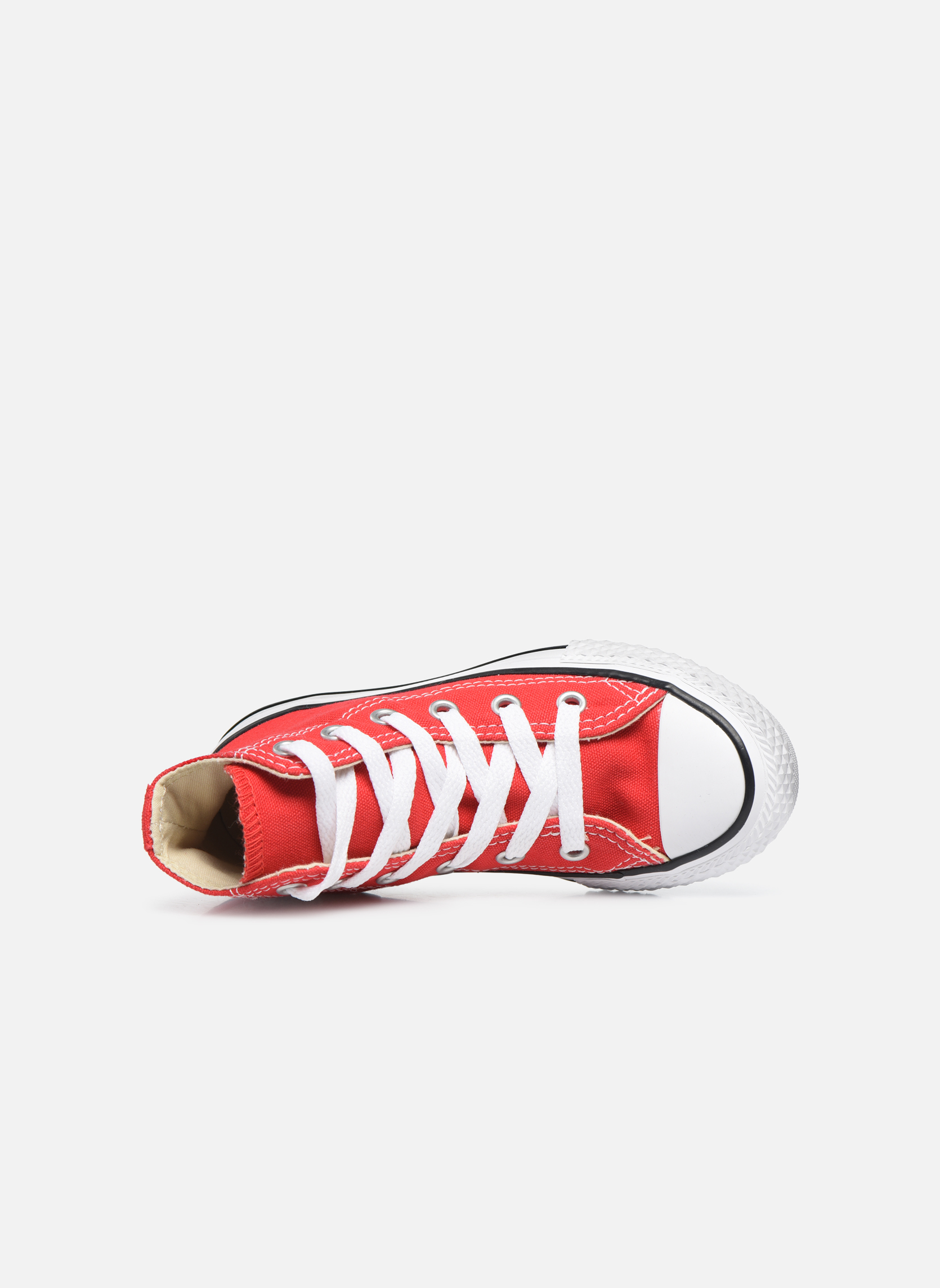 Sneakers Converse Chuck Taylor All Star Core Hi Rosso immagine sinistra