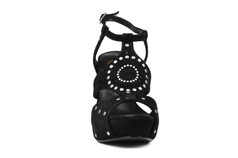 Sandalen Ash Touch schwarz schuhe getragen