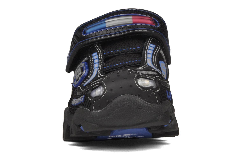 Sneaker Skechers Police schwarz schuhe getragen