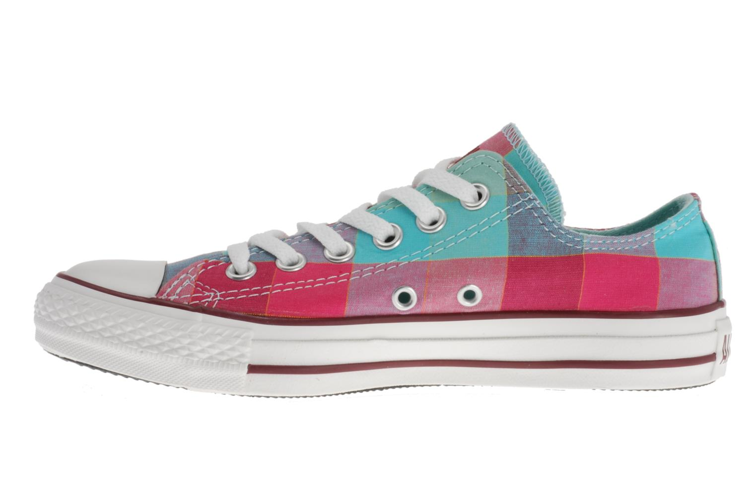 Sneakers Converse Chuck Taylor All Star Big Plaid Ox W Multicolor voorkant