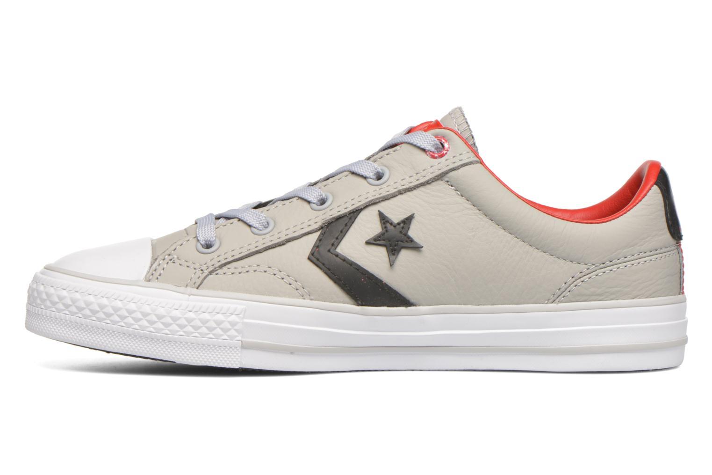 Sneakers Converse Star Player Cuir Ev W Grijs voorkant