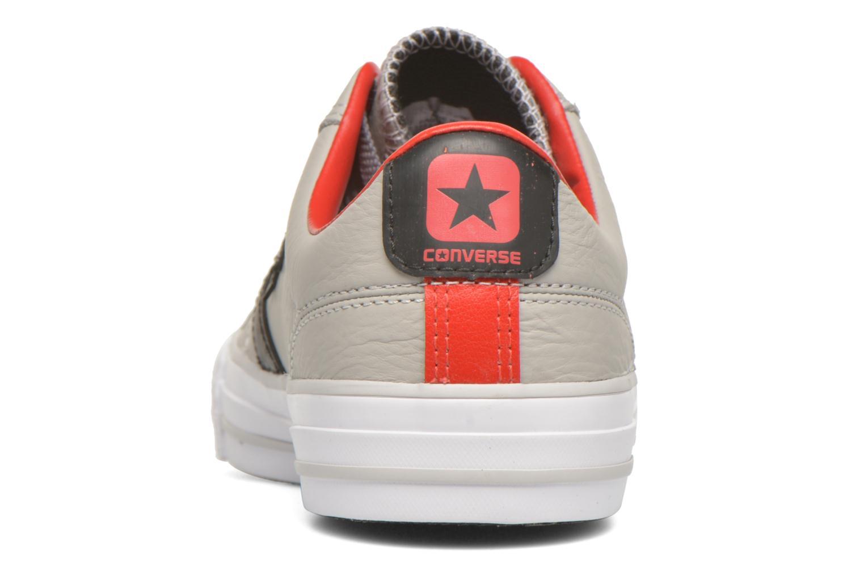 Baskets Converse Star Player Cuir Ev W Gris vue droite