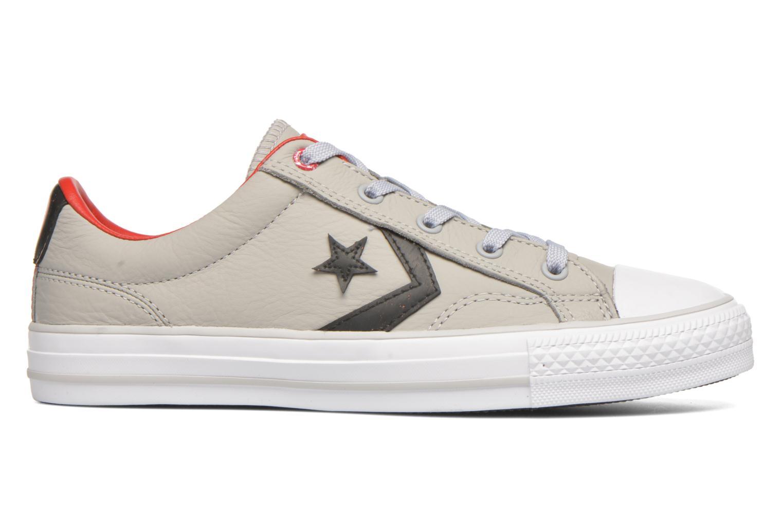 Sneakers Converse Star Player Cuir Ev W Grijs achterkant