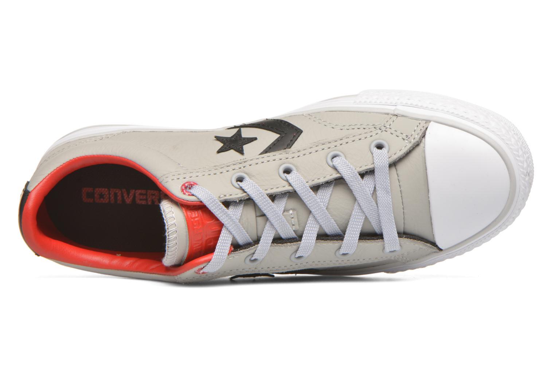 Sneakers Converse Star Player Cuir Ev W Grijs links