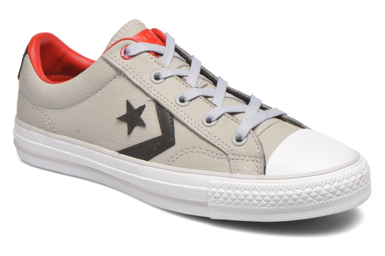 Sneakers Converse Star Player Cuir Ev W Grijs detail