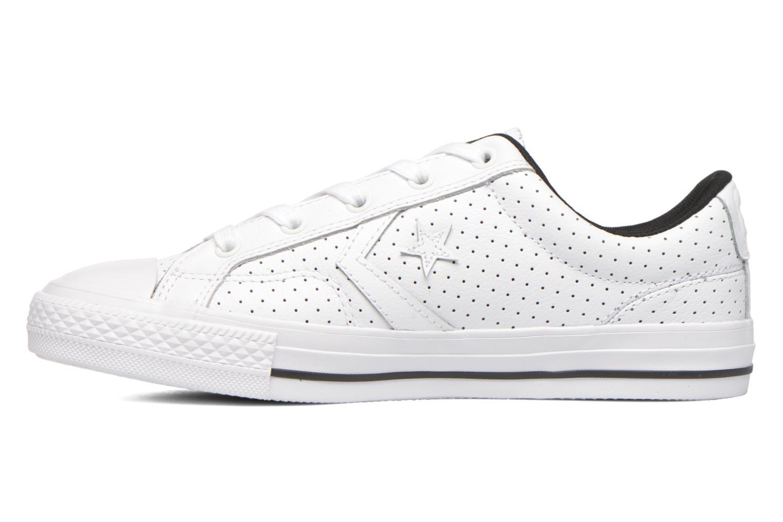 Sneaker Converse Star Player Cuir Ev W weiß ansicht von vorne