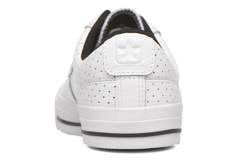 Sneaker Converse Star Player Cuir Ev W weiß ansicht von rechts