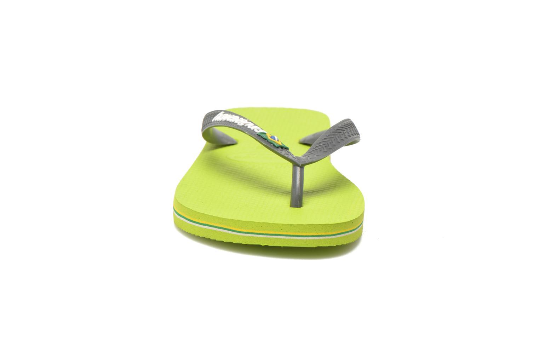 Flip flops & klipklapper Havaianas Brazil Logo H Grøn se skoene på