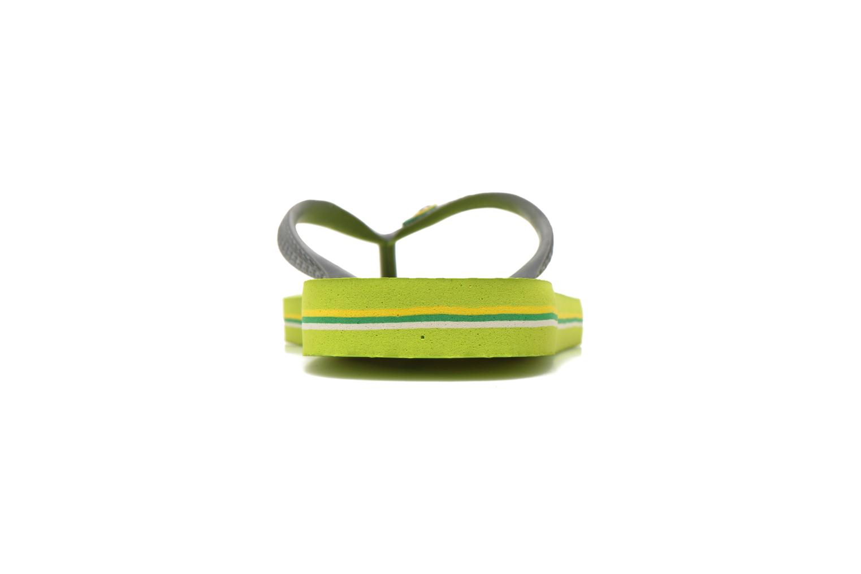 Brazil Logo H Lime Green Grey
