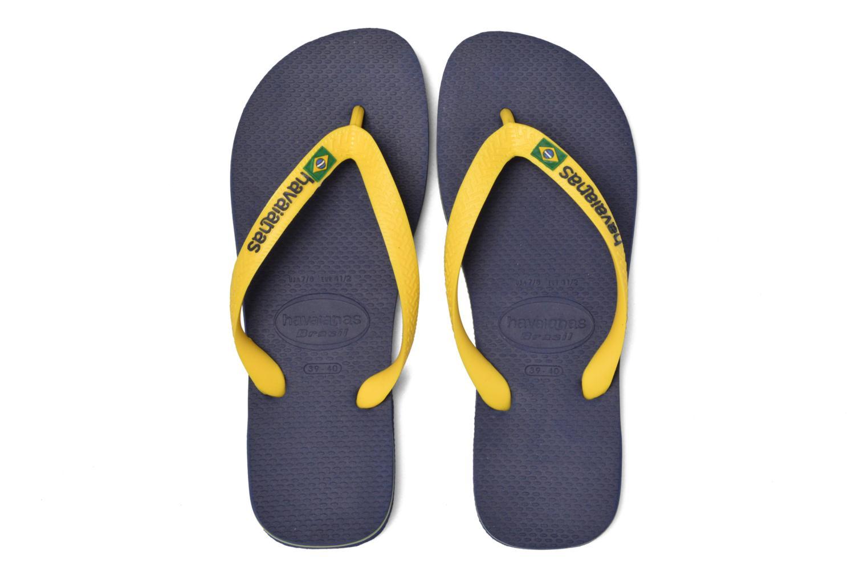 Slippers Havaianas Brazil Logo H Blauw 3/4'