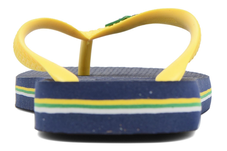 Slippers Havaianas Brazil Logo H Blauw rechts