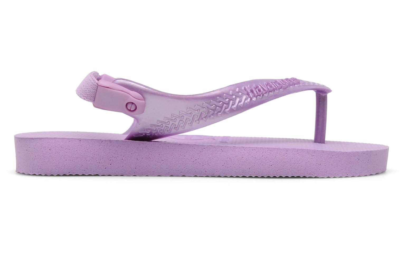 Flip flops Havaianas TOP BABY Purple back view