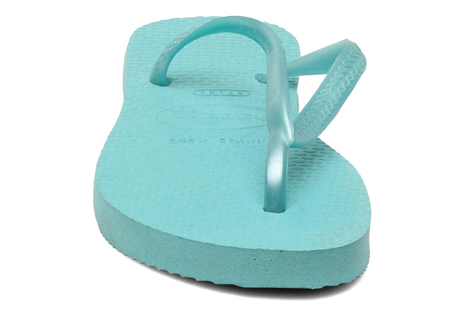 Slippers Havaianas Kids Slim Blauw model