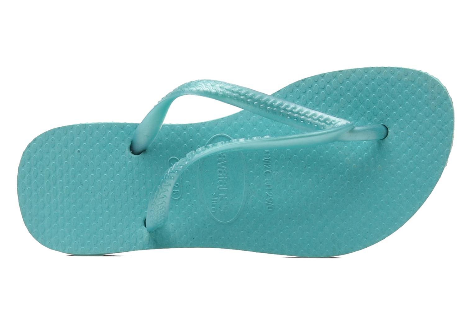 Slippers Havaianas Kids Slim Blauw links