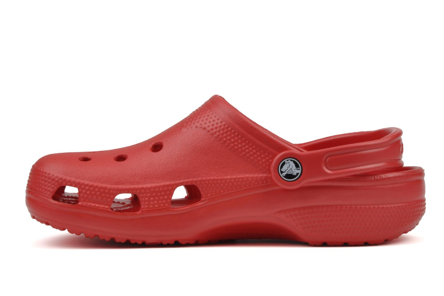 Sandals Crocs Beach H Red front view