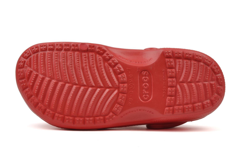 Sandales et nu-pieds Crocs Beach H Rouge vue haut