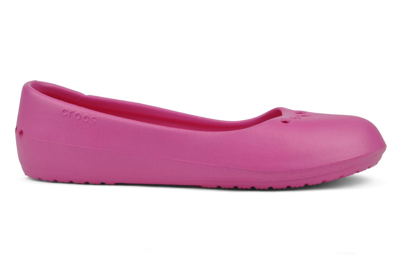 Ballet pumps Crocs Prima Pink back view