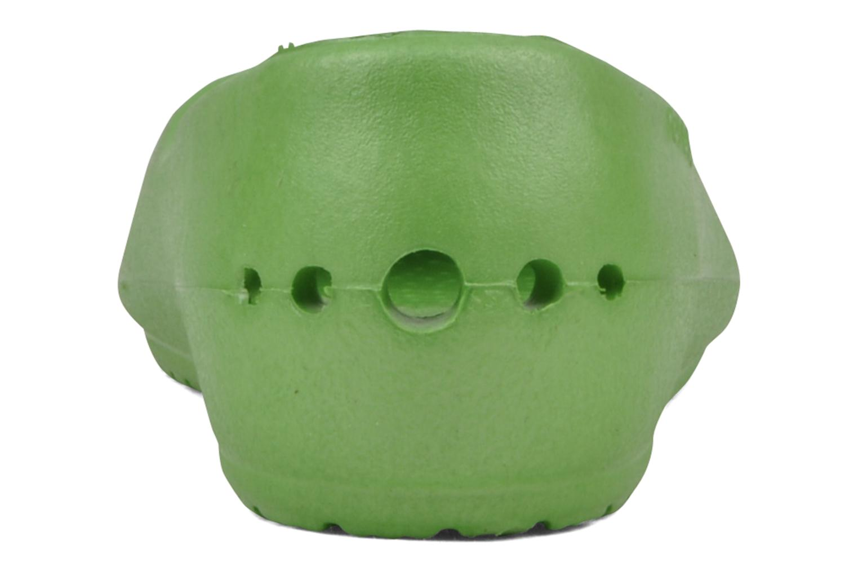 Ballerines Crocs Prima Vert vue droite