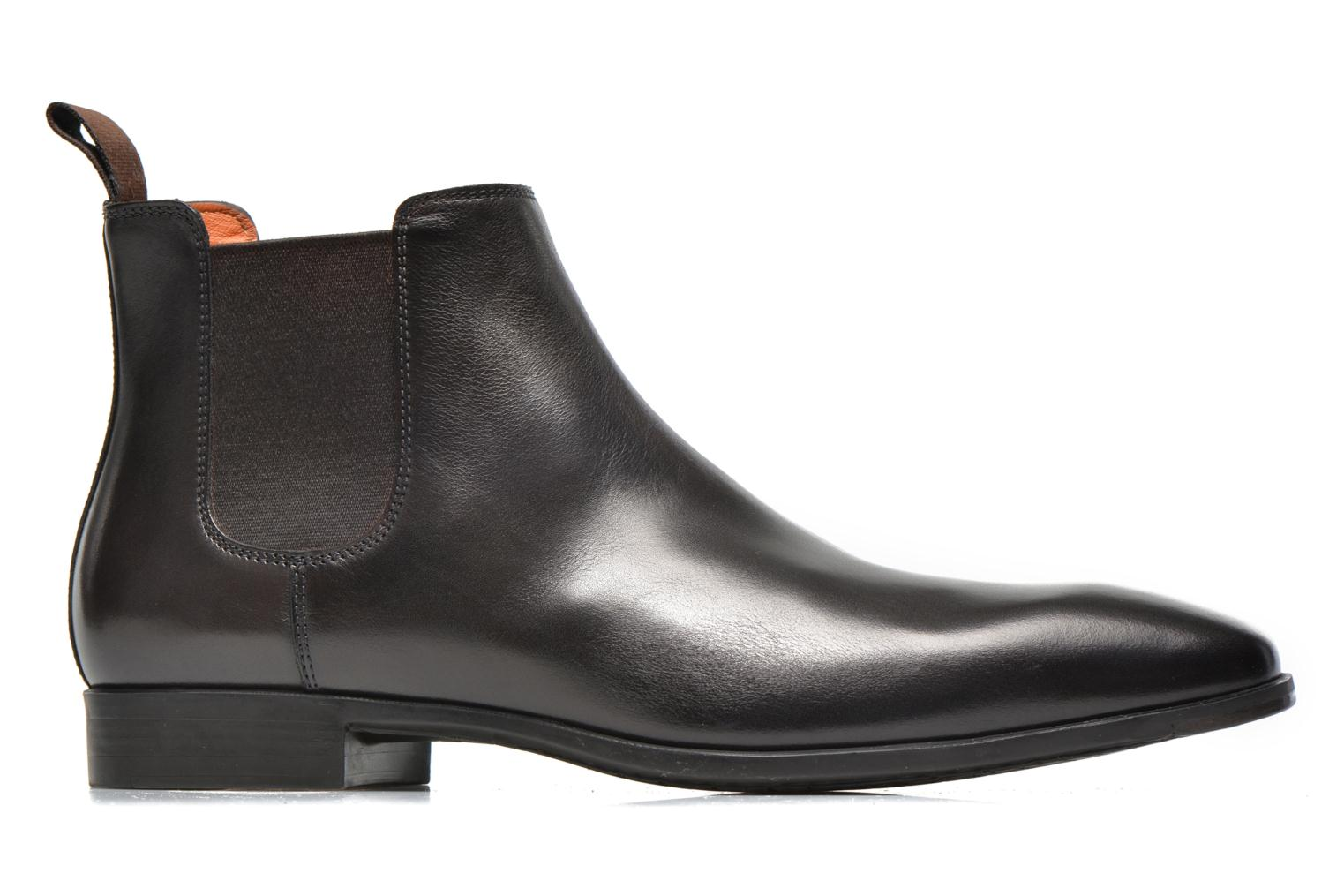 Ankle boots Santoni Marlone 9291 Brown back view