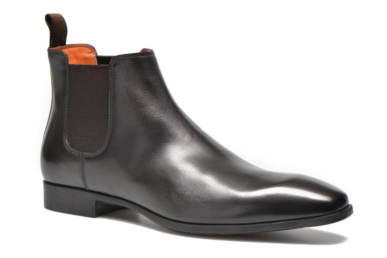 Boots en enkellaarsjes Santoni Marlone 9291 Bruin detail